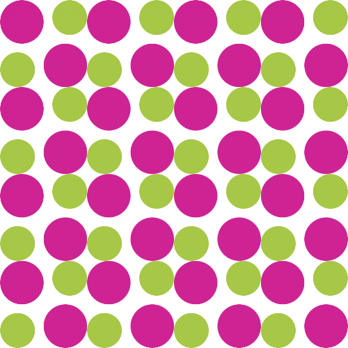 Bright Winter spot pattern