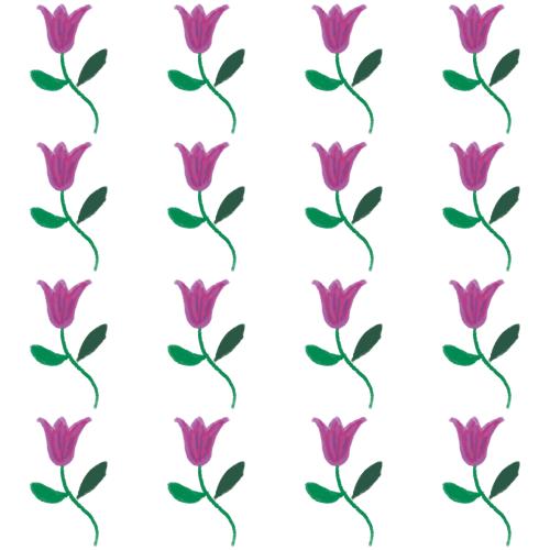 True Winter floral pattern
