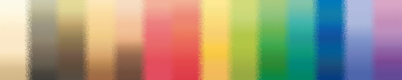True Spring colour gradients