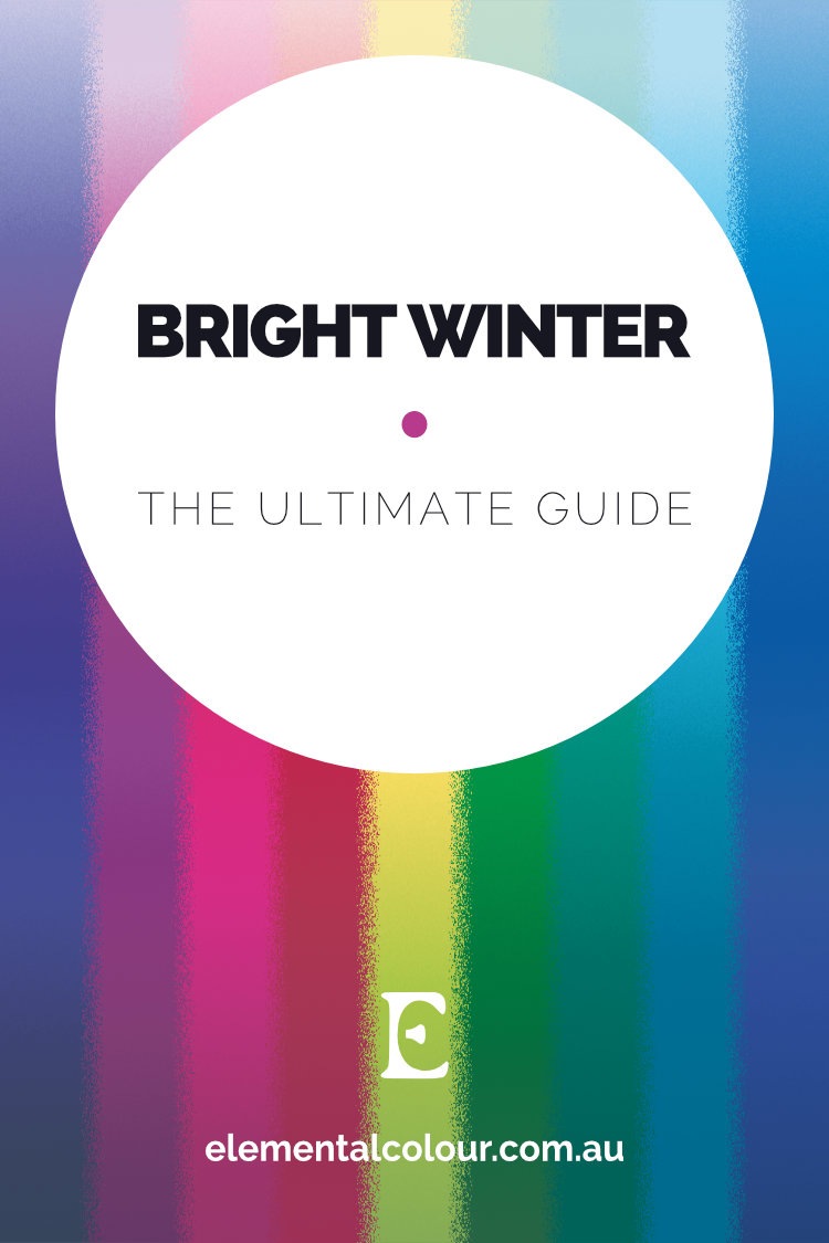 Bright Winter:The Ultimate Guide ... Everything you need to know about the Bright Winter tone