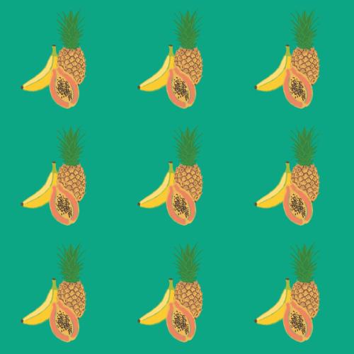 True Spring fruit pattern