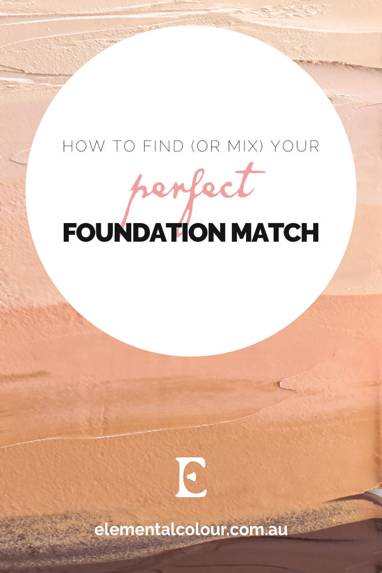 How to Find (or Mix) Your Perfect Foundation Match: Using colour theory to understand and match your skintone
