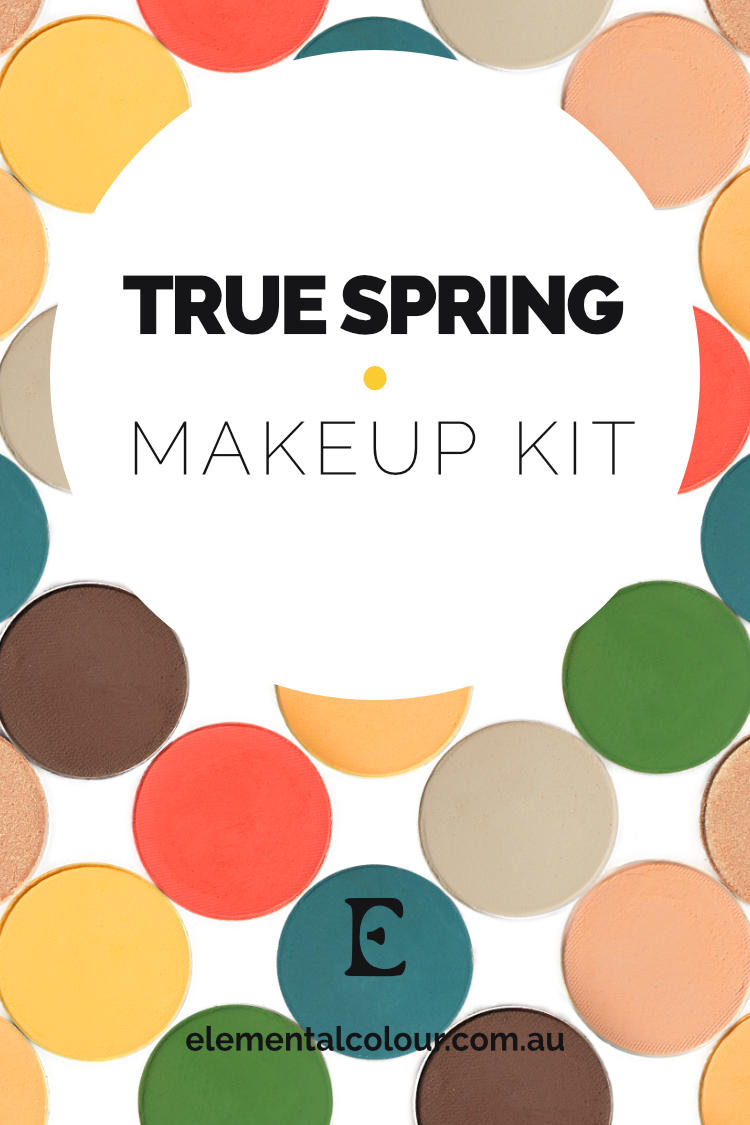 True Spring Makeup Kit — Perfect products, palettes and looks for True Spring women