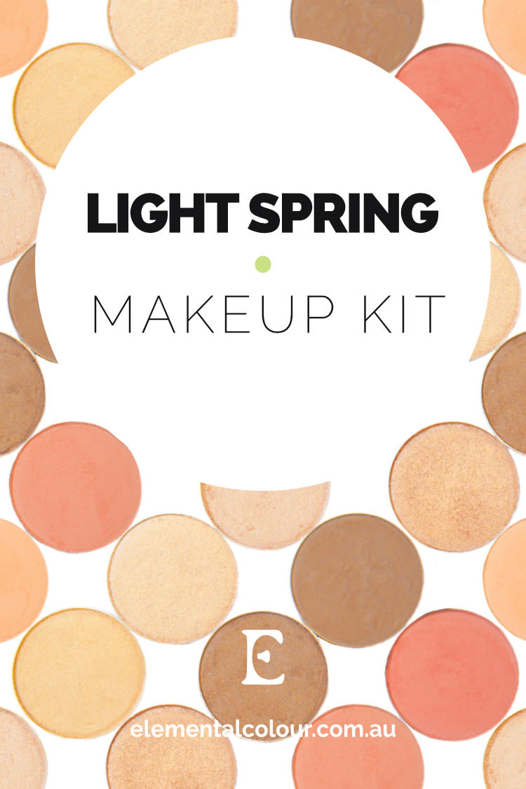 Light Spring Makeup Kit — Perfect products, palettes and looks for Light Spring women
