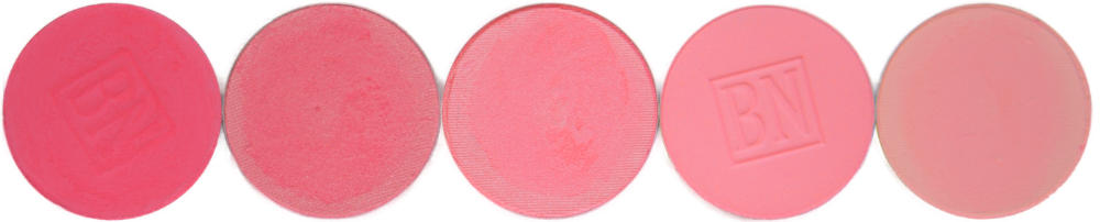Misty Pink, Mandarin Red, Coral Spice, Pink Bliss, Scarlet
