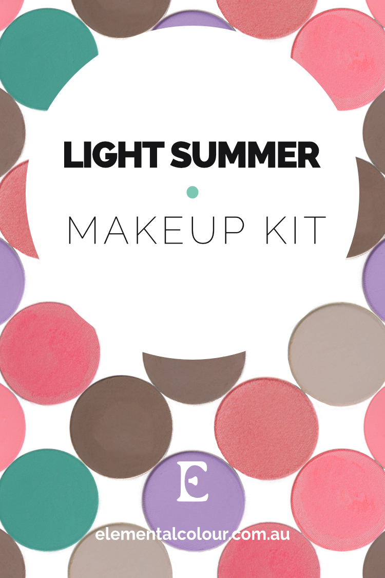 Light Summer Makeup Kit — Perfect products, palettes and looks for Light Summer women