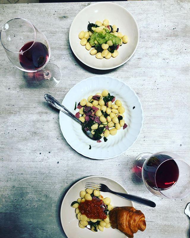 Homemade meal in Italy w/ a great Chianti and even better company. @lisa_lawrence511 😍#honeymooninitaly #viewfromthebar #vacation #italytravel