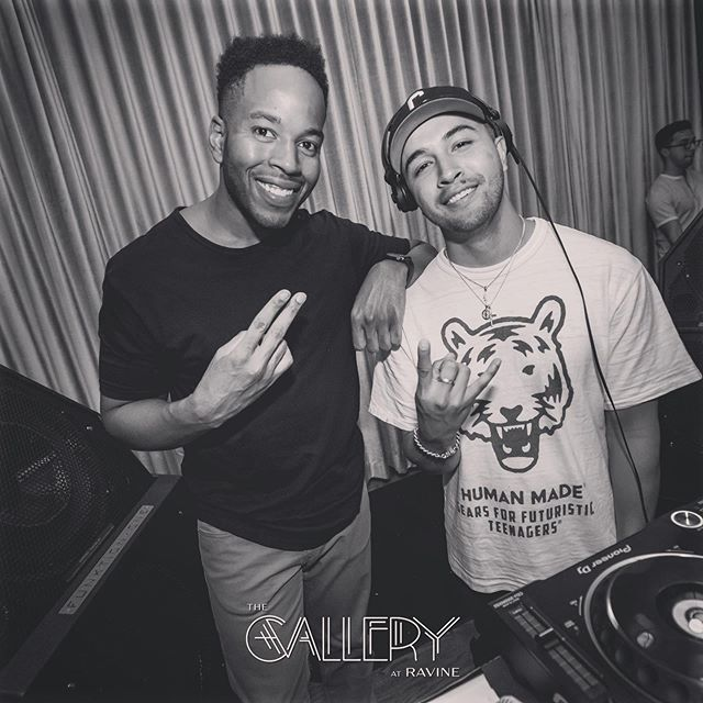 Solid Duo - Grand Opening Weekend  #HipHopFridays @galleryatravine @ravineatl