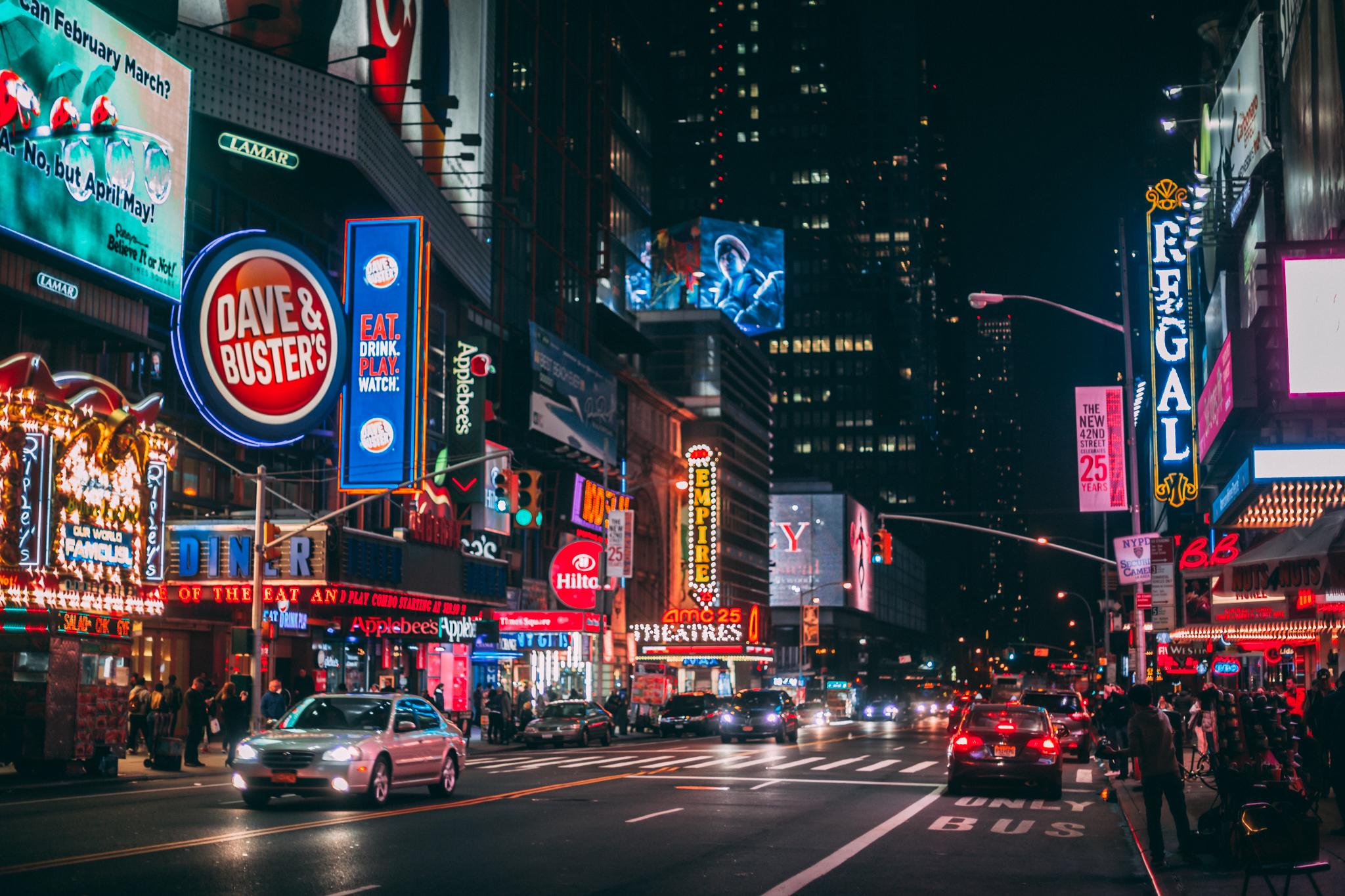 New York City, May 2016