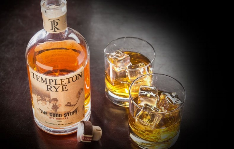 Random Fact: - Templeton sold for $5.25 to $5.50 a gallon during Prohibition, which is $67 - $70 in today's money.