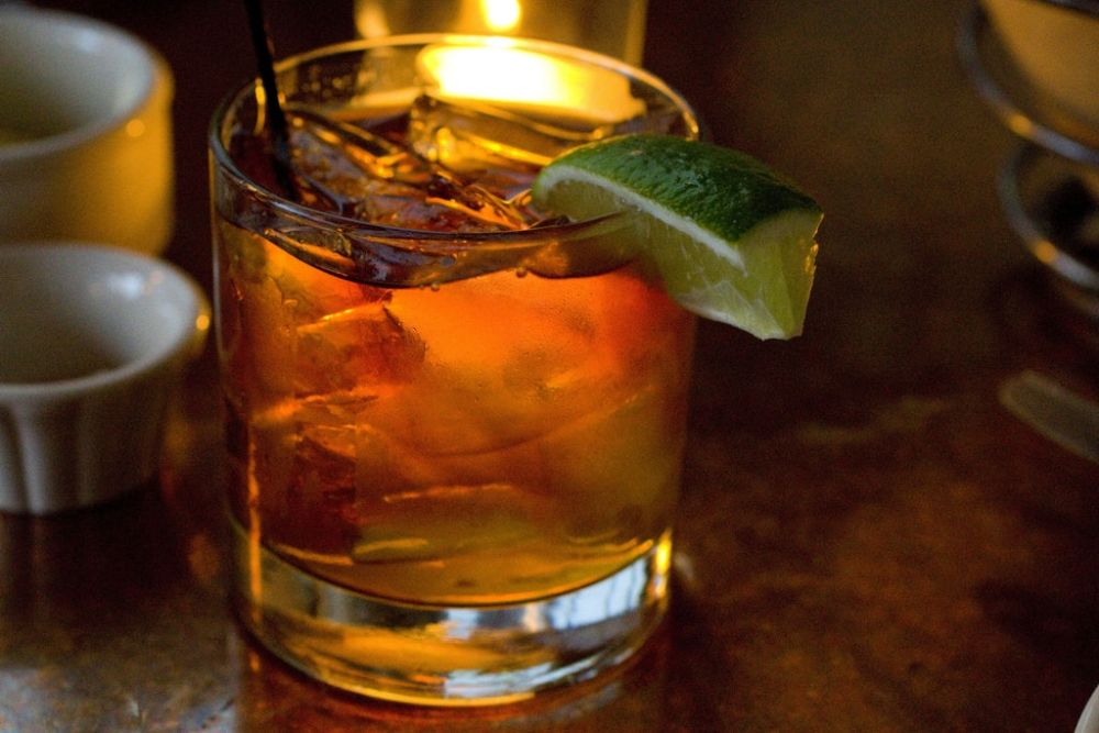 Random Fact - To legally go by the name Dark 'n Stormy or a Dark 'n' Stormy, the cocktail must be made with Gosling's Black Seal rum. Gosling's has trademarked both versions of the name with their recipe.