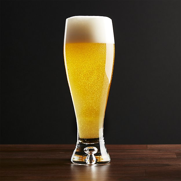 Random Beer Fact: - Pilsners were so popular they helped change the glass market. After Bavarian glass was helped on its way to being made into every beer mug ever at the time thanks in large part to the color of Pilsners.