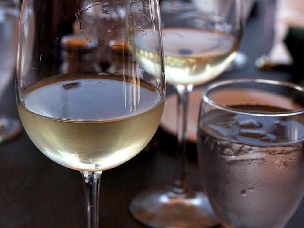 """Random Wine Fact: - There are some people that have a fear of wine. It's called """"oenophobia""""."""