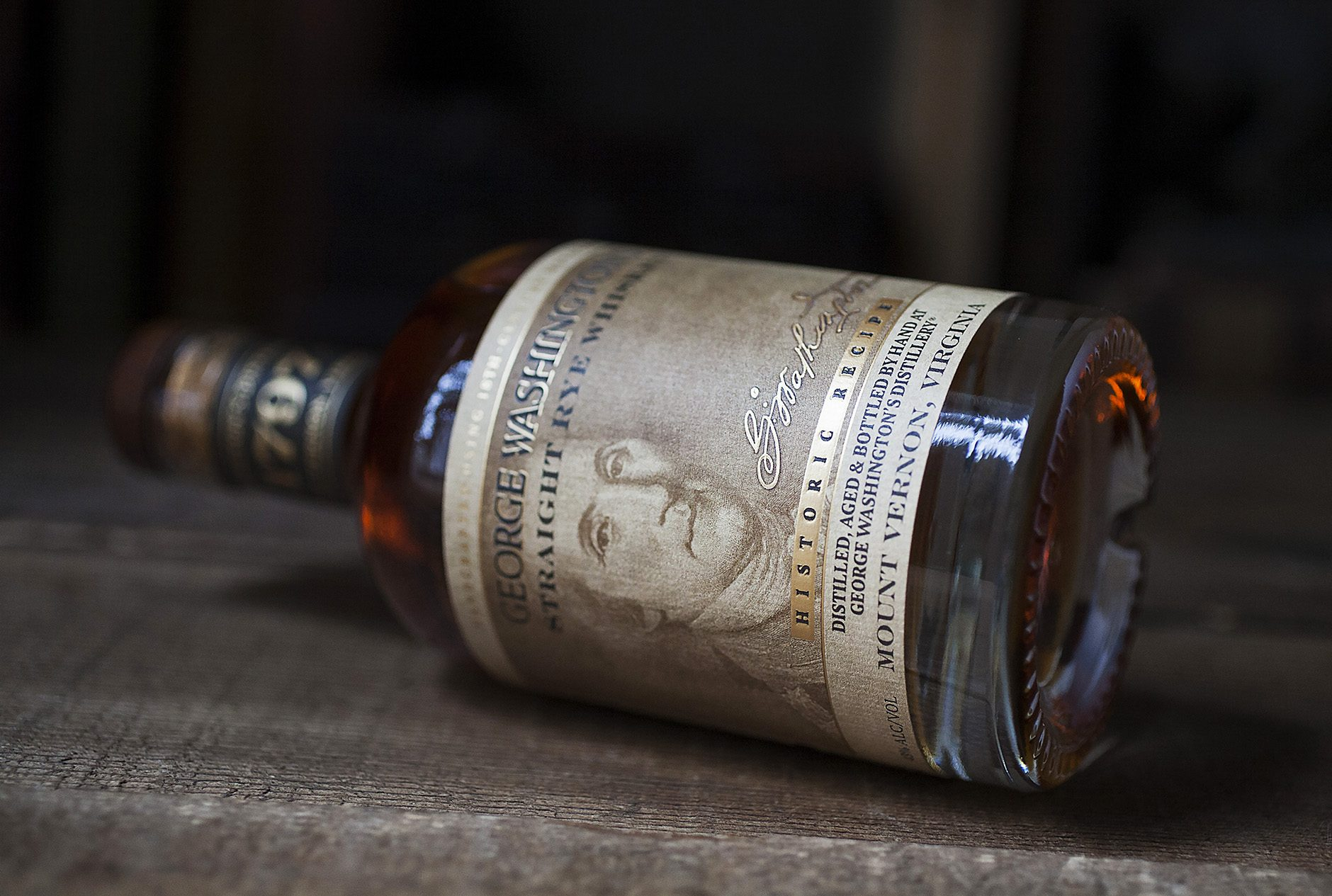 Random Fact: - George Washington distilled rye whiskey at his home in Mount Vernon. It was so popular he had to expand his distillery after only one summer of production.