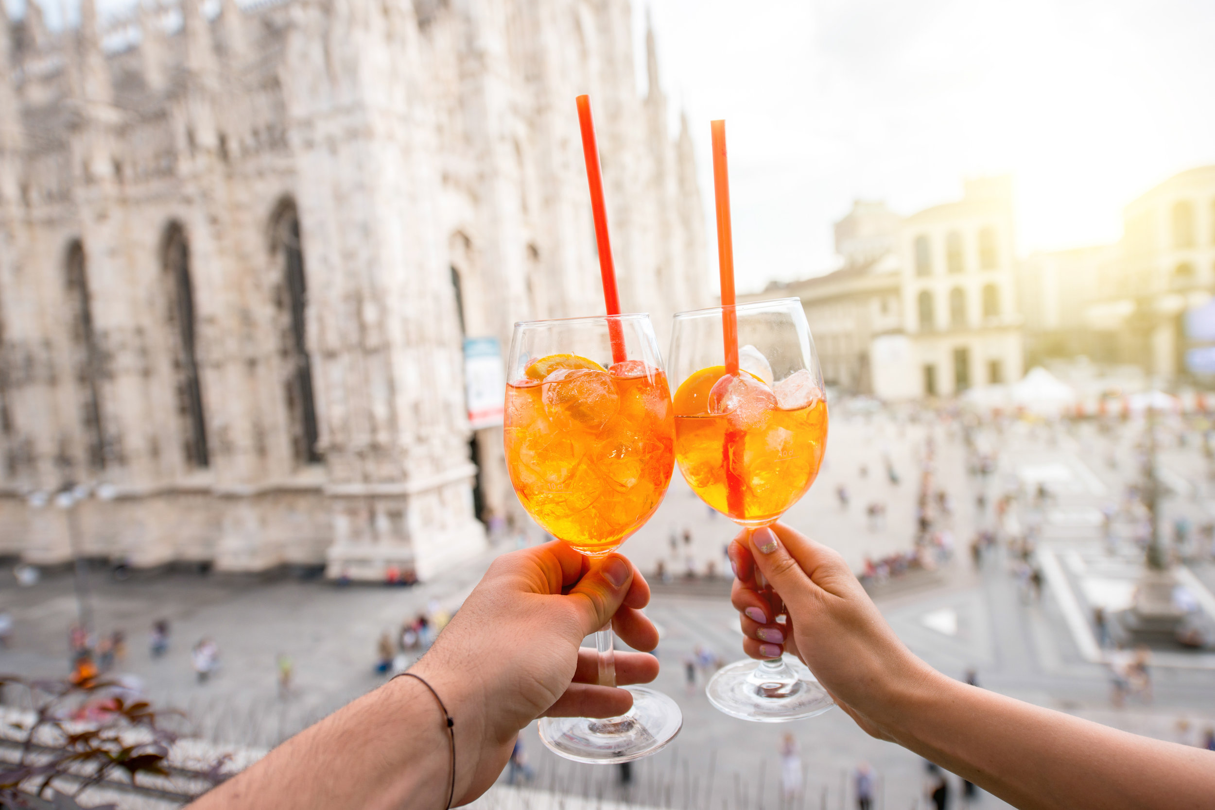 Random Fact: - On 29 June 2012, thousands of Aperol fans descended on the iconic Piazza San Marco in Venice to attempt making a Guinness World Record™ for the 'Largest Aperol Spritz Toast'. Over 2,600 people joined in the social spirit of Aperol Spritz, eager to clink their glasses to make history.