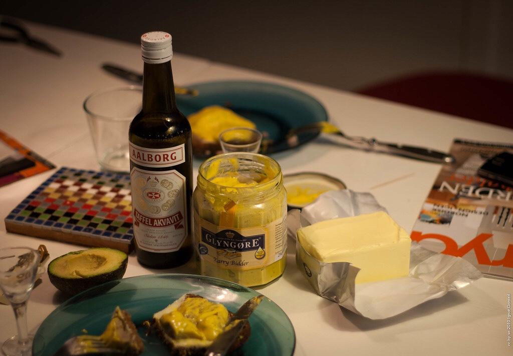 Random Fact- - The Danish distillery Aalborg makes an akvavit distilled with amber