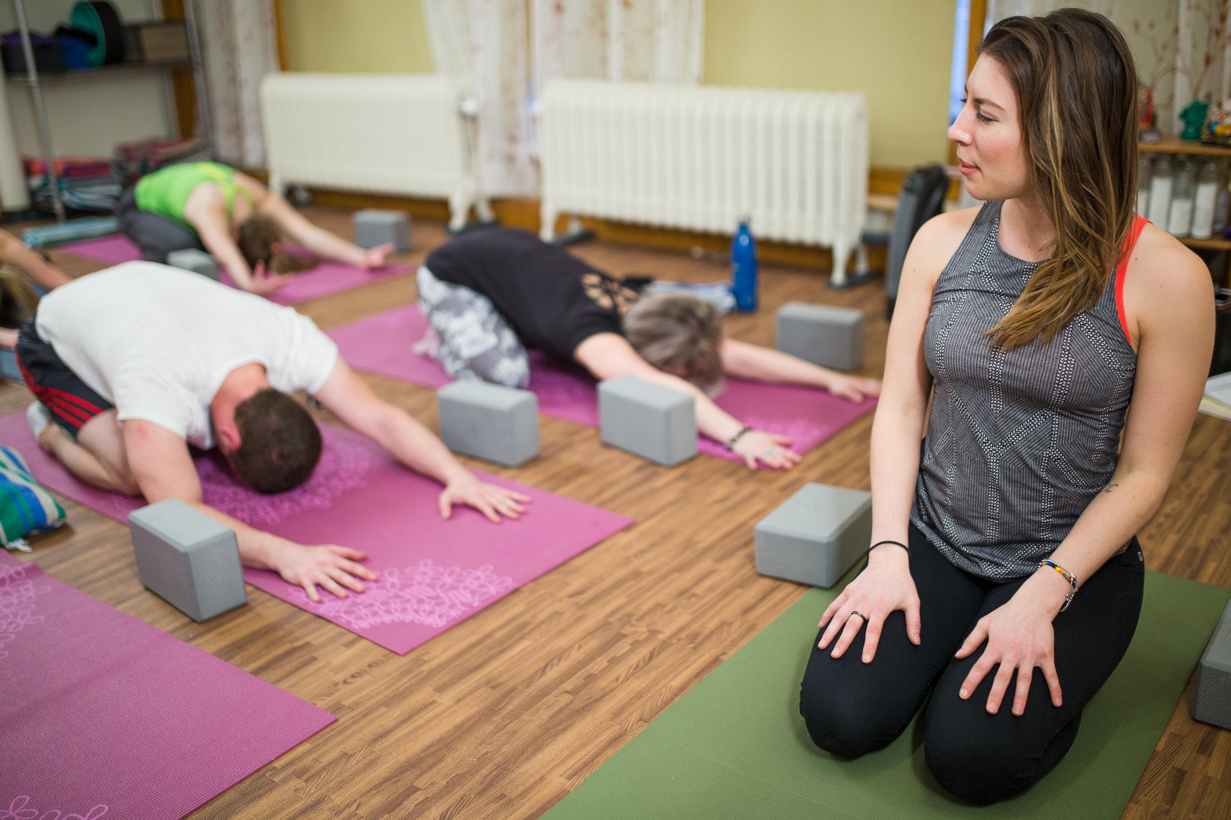 Paige Nowak dever yoga instructor kundalini
