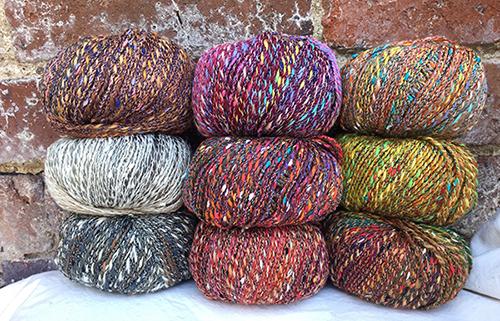 Filatura di Crosa Quality Yarn - Merino wool and multi-colour cotton-blend yarn from Italy.
