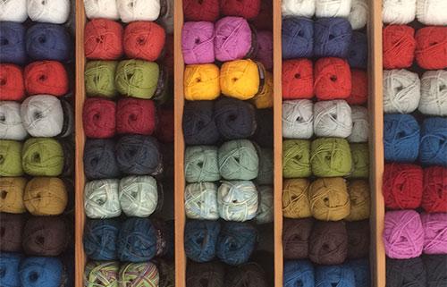White Gum Wool Yarns - Australian superfine Merino wool grown in Tasmania. Huge colour range available in our shop