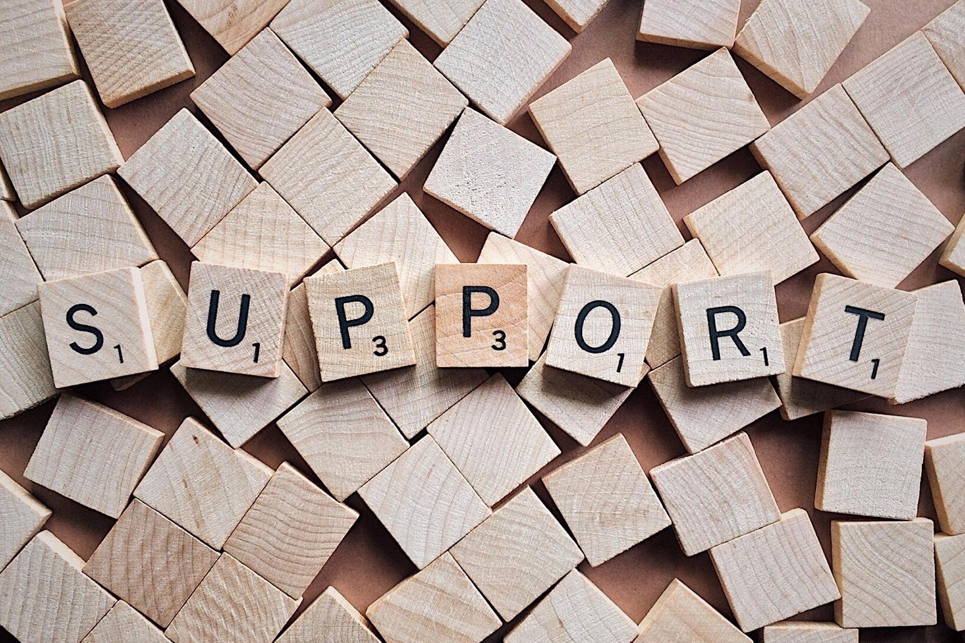 Wir bieten Unterstützung durch moderne IT-Systeme.
