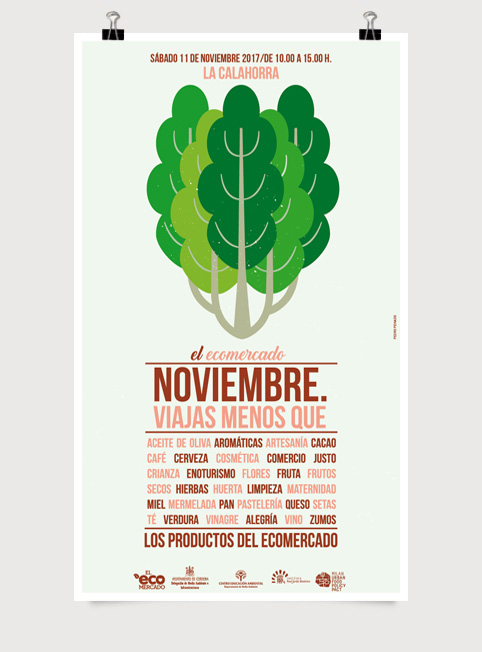 - Cartel para El Ecomercado (Córdoba)