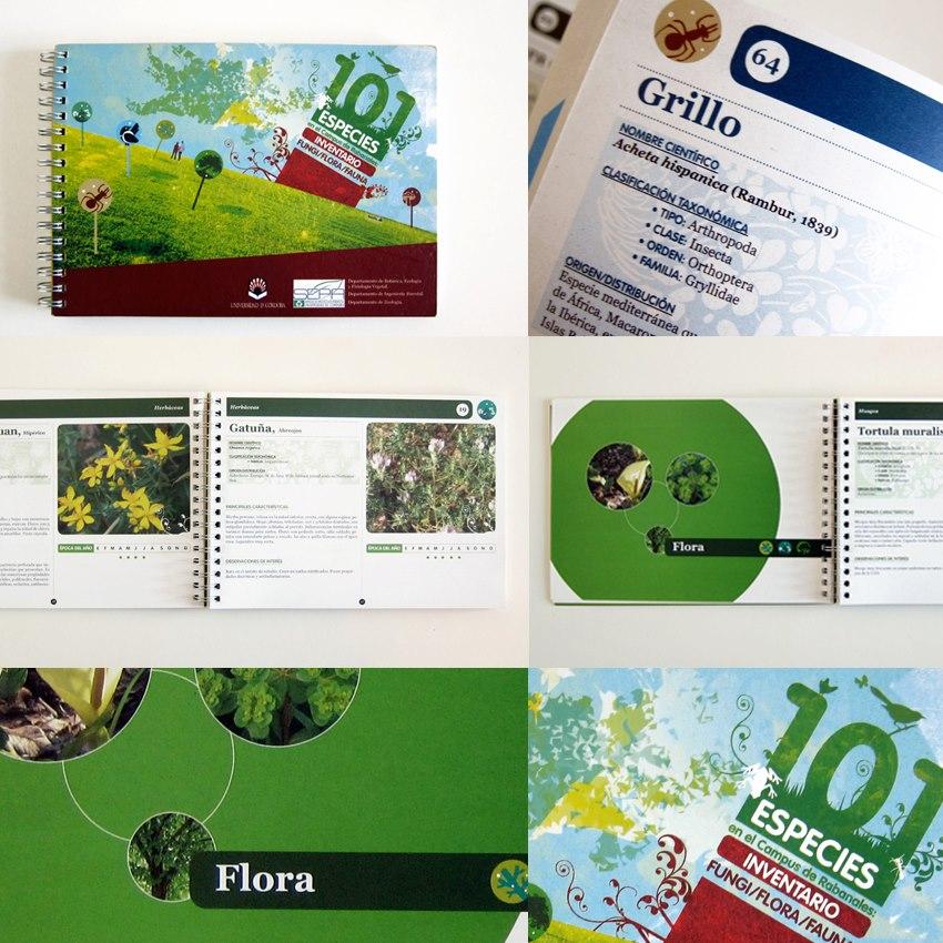 - 101 especies en el Campus de Rabanales. Inventario Fungi/flora/fauna. Universidad de Córdoba