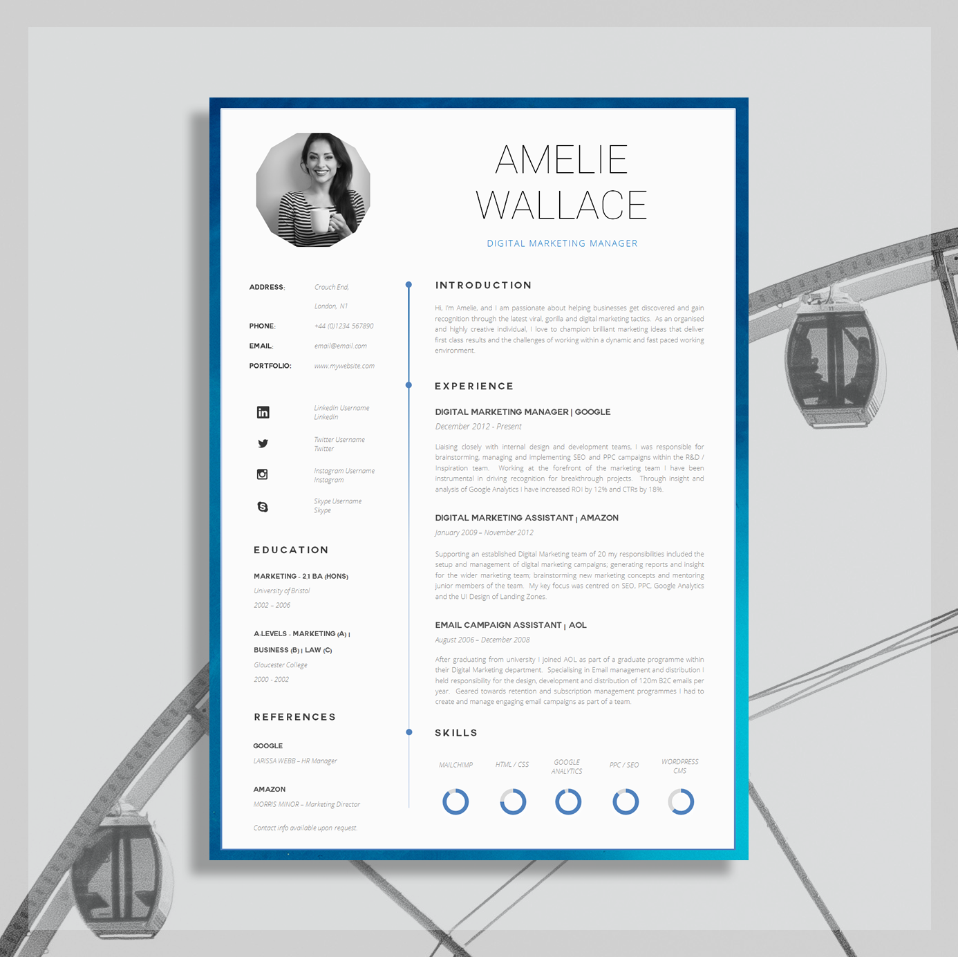 Download this Creative Resume Here.