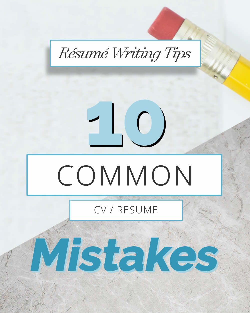 10 Common CV Mistakes
