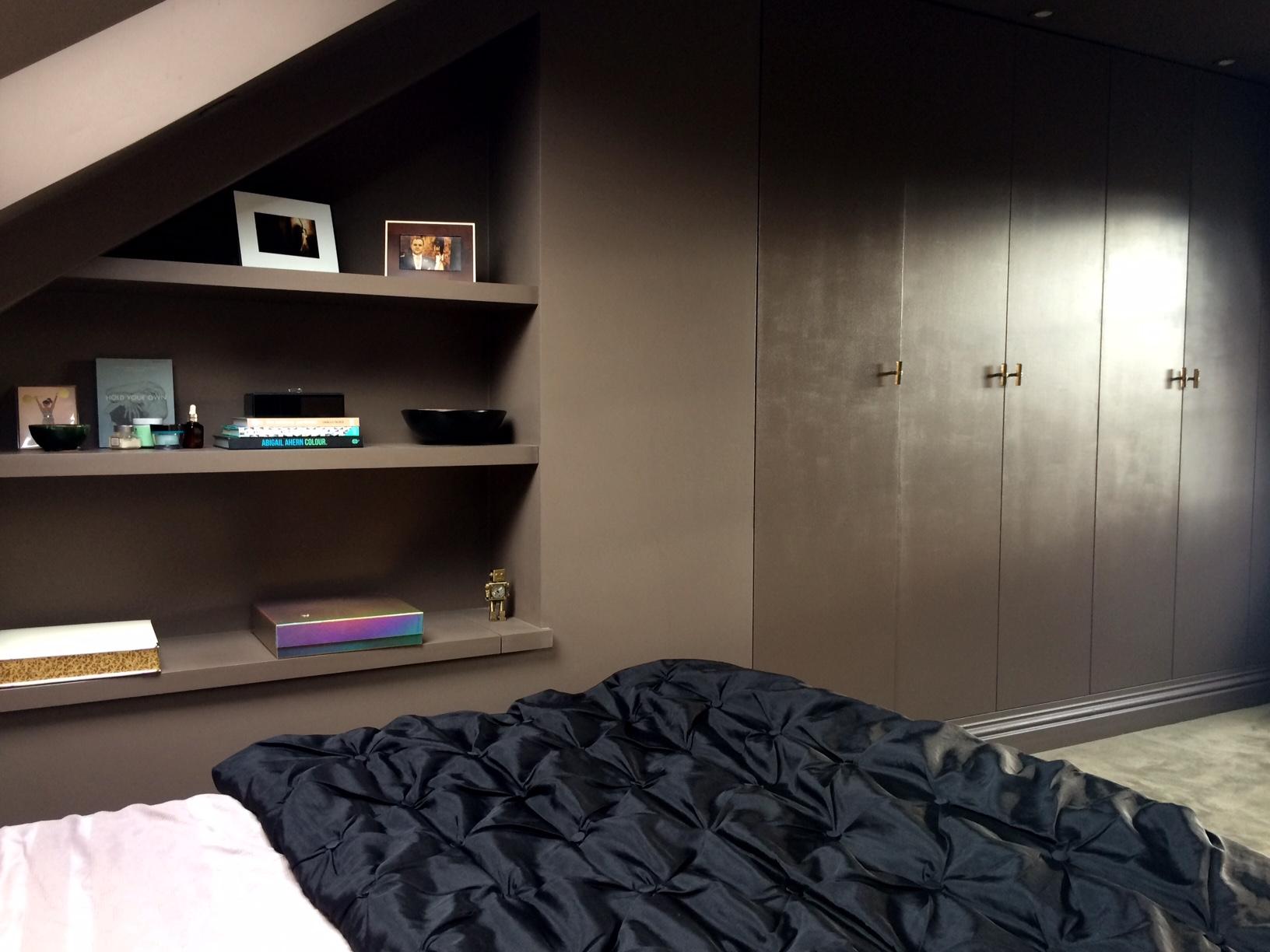Plan B shelves with secret storage underneath