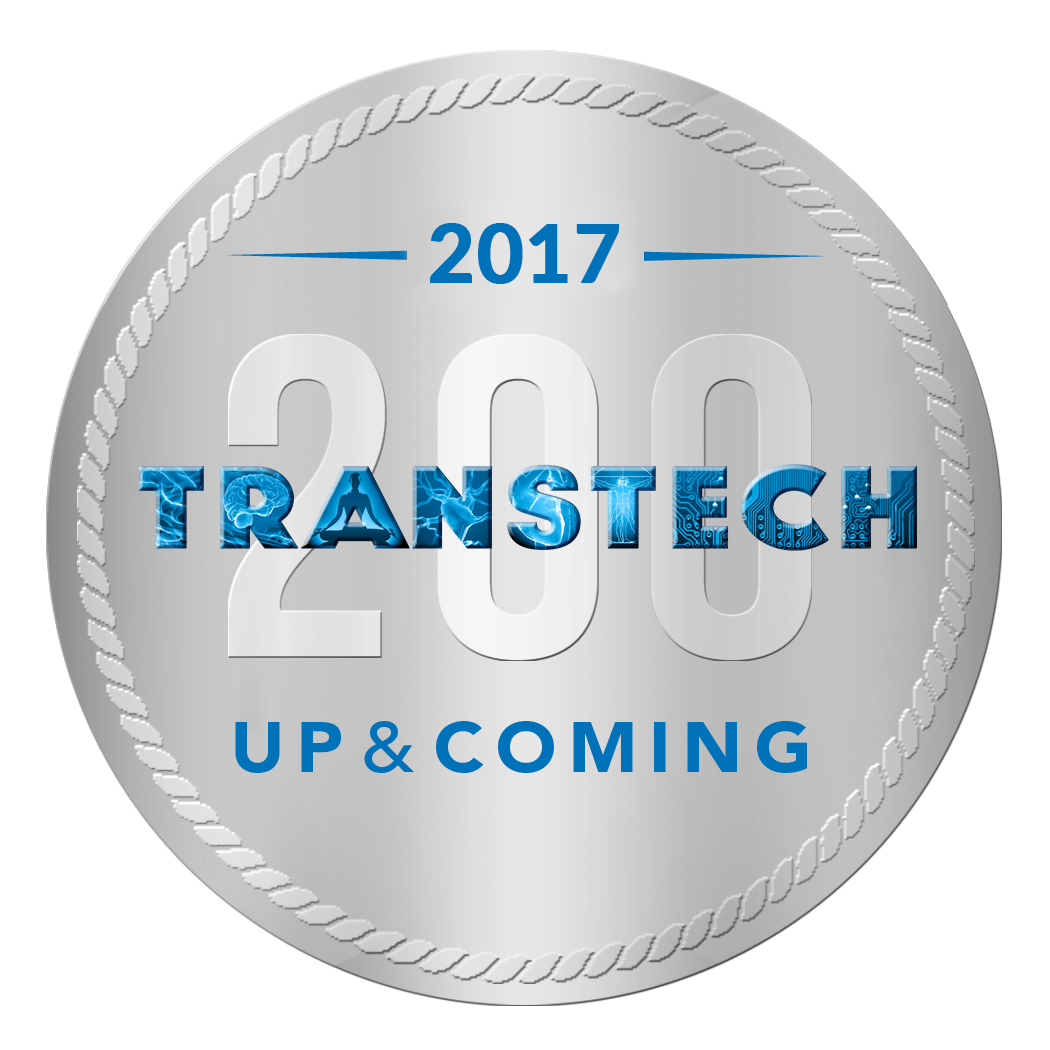 eScent® is recognised on the  TransTech200 'Up & Coming' Innovator list .The TransTech 200 is the annual list of the key innovators who are driving technology for mental and emotional wellbeing forward.