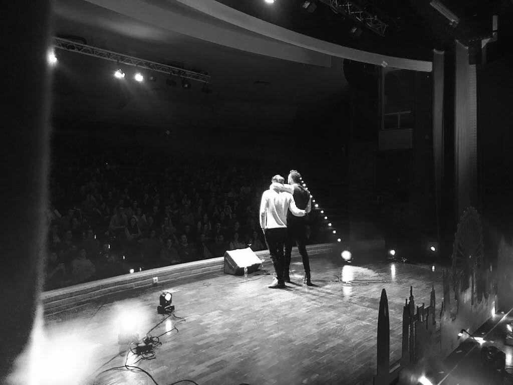André De Freitas tour support for Rui Sinel De Cordes's sold out LONDON EYES theatre tour