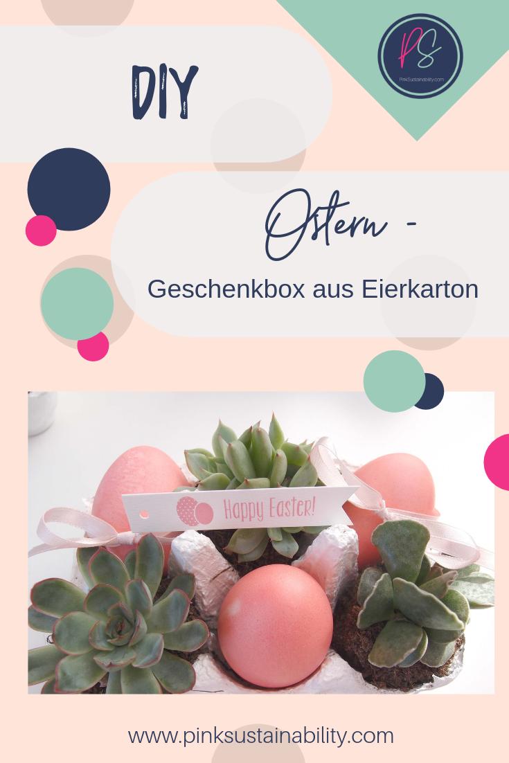 Ostern Eierkarton Geschenk
