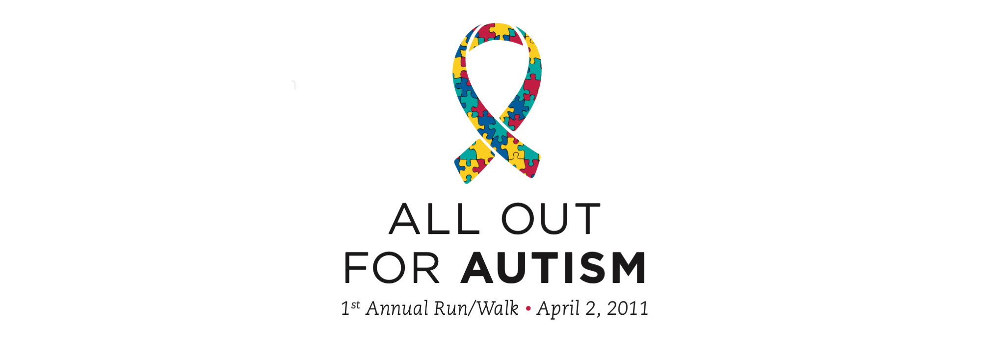 All Out for Autism Run/Walk Logo