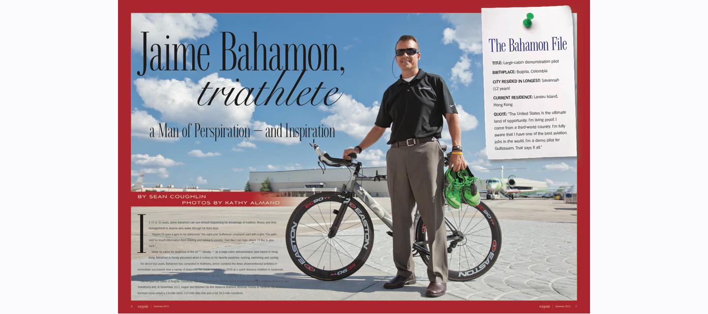 Waypoint magazine spread
