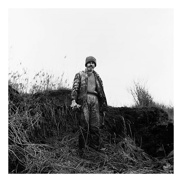 @borishallvighere on day 5 of my takeover. I'm postingimages from my first long form photographic project, Seasonal Blues. A series of portraits and landscapes documenting rural life in the South West,during the short light and long months of winter.This image is of Tony, he lives on the beach, collecting fossils embedded in the clay of the Jurassic coast.  Taken on a #Yashicamat124g and #acros100 film. And scanned on Photographique's fancy new Flextight scanner.  #film #filmfeed #filmphotography #analog #anaoguephotography #analogueforever #mediumformat #120film #portrait #portraiture #documentaryphotography #devon #photographiqueuk