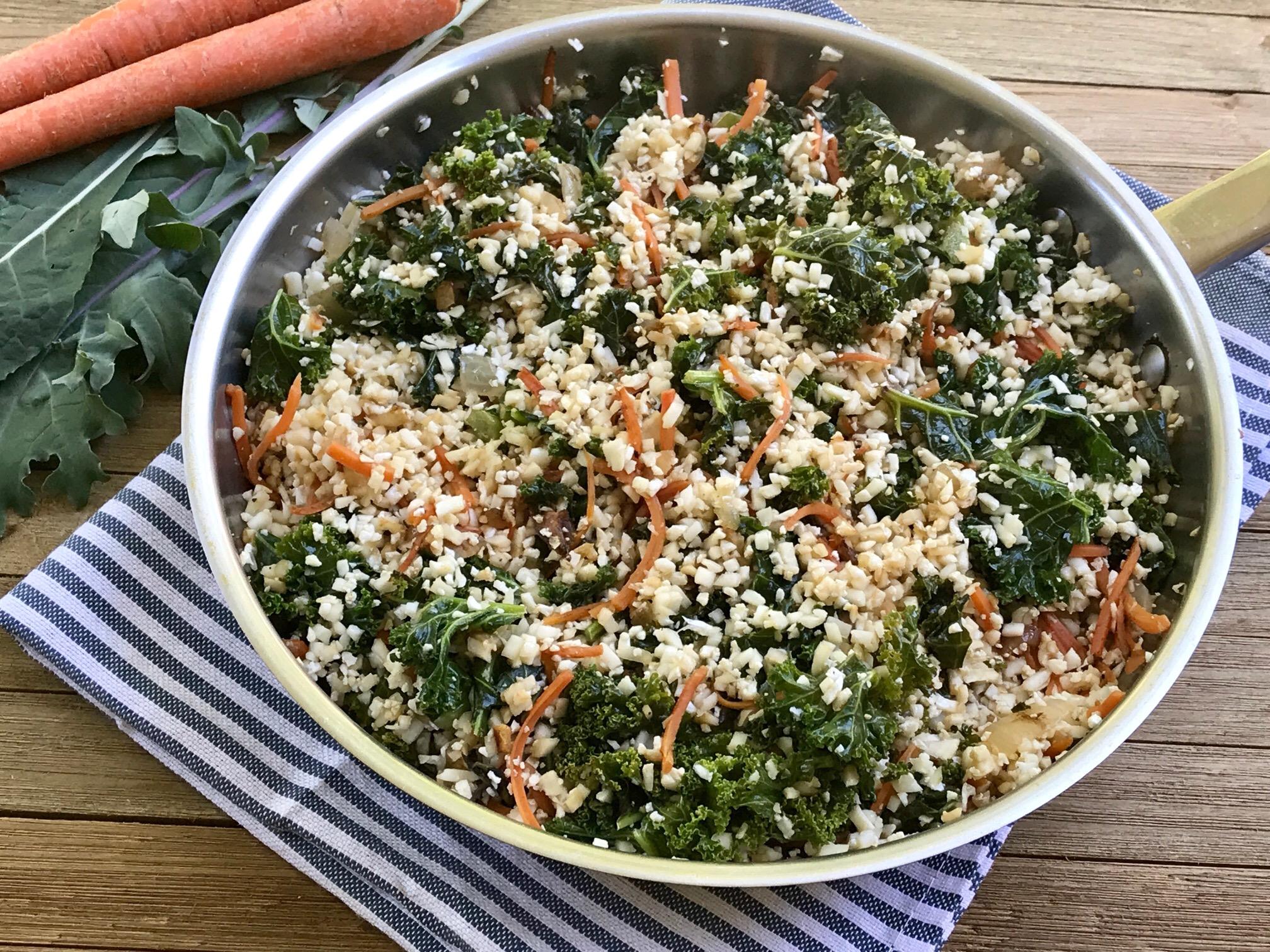 Ginger Kale Fried Cauliflower Rice.jpg
