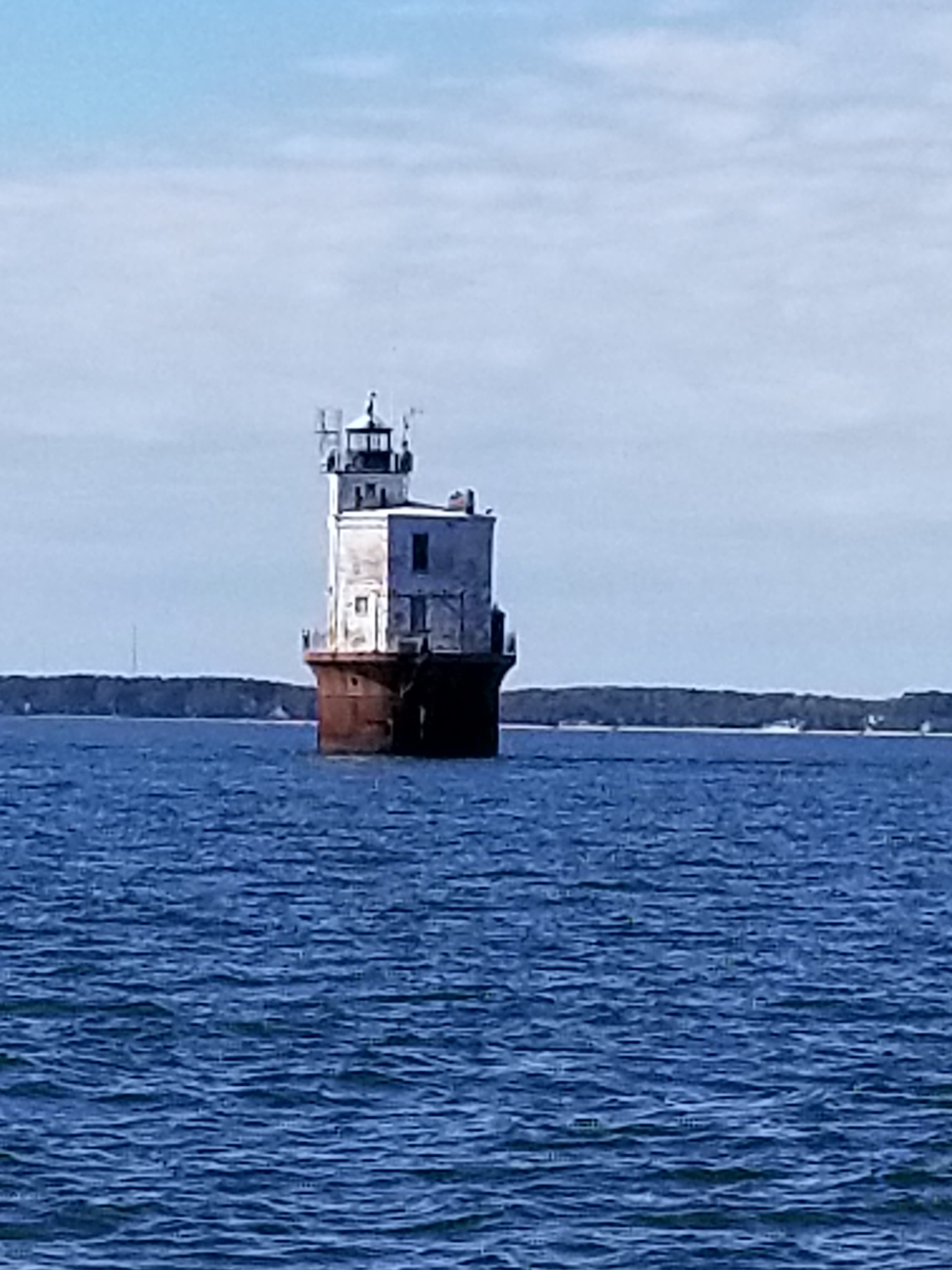 Smith Point Light, on the southern shore of the Potomac River in Virginia.