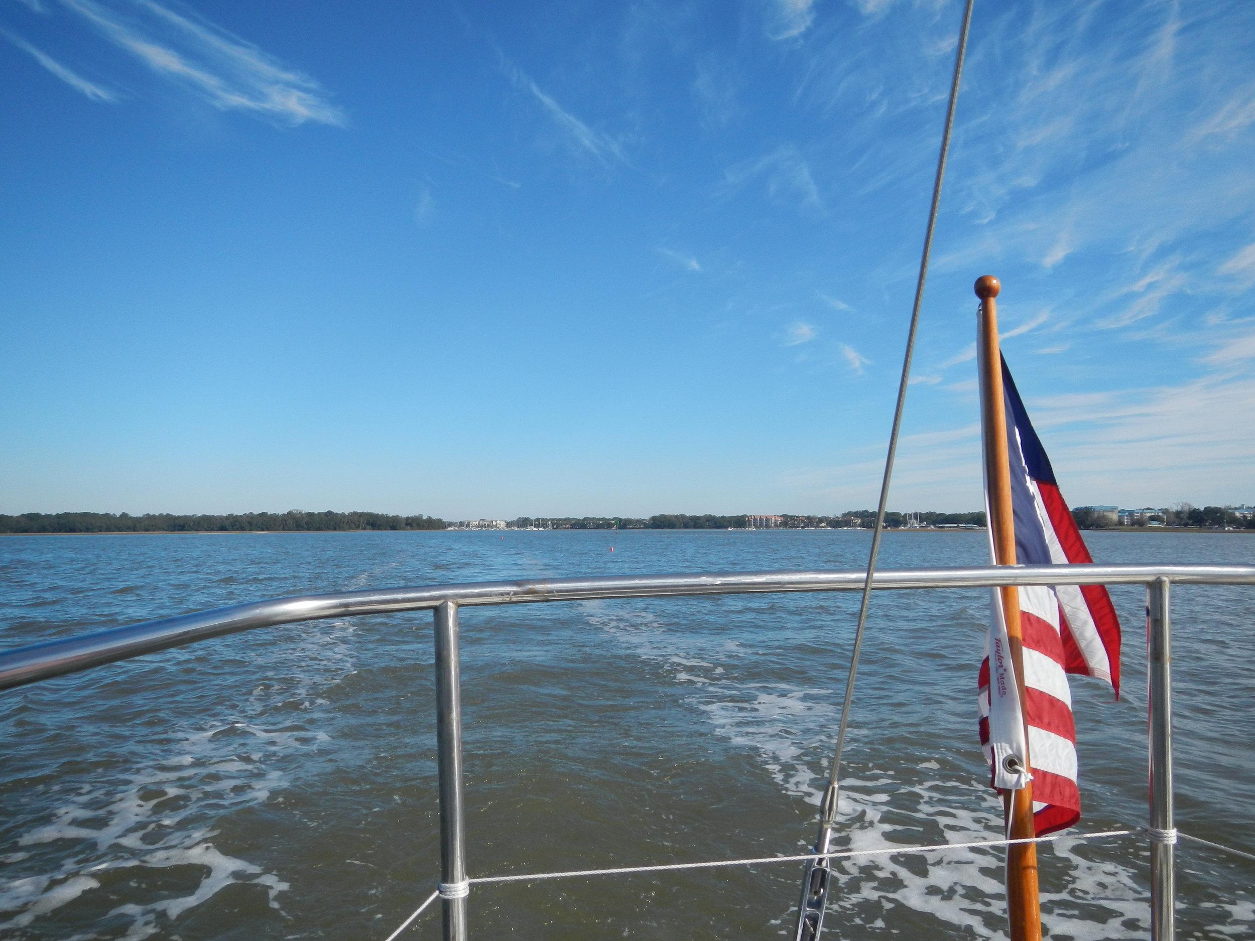 Farewell Skull Creek Marina!