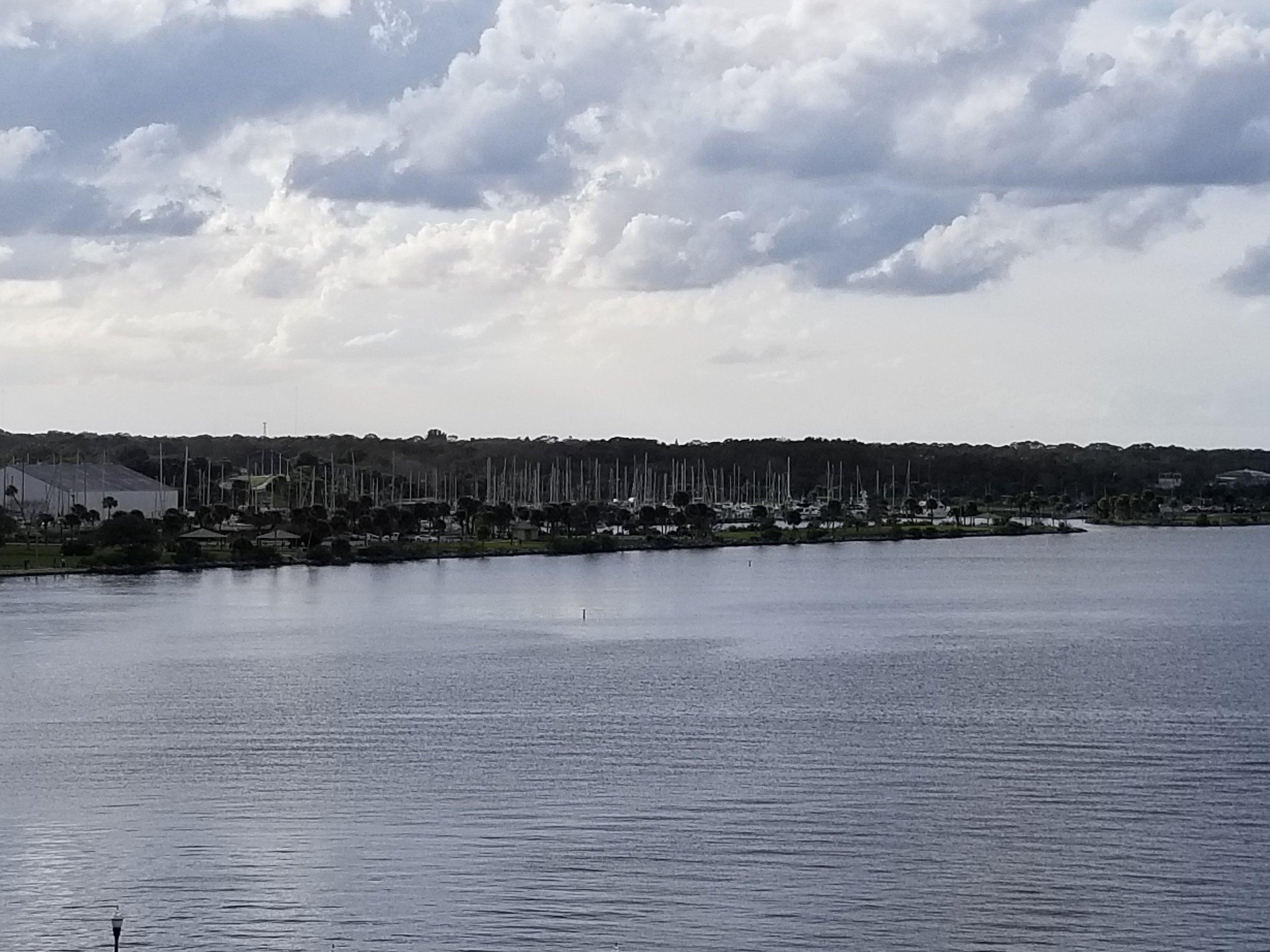 Titusville Marina and the adjacent Westland Marina.