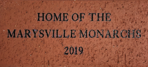 "4"" x 8"" Engraved Brick - $200.00"