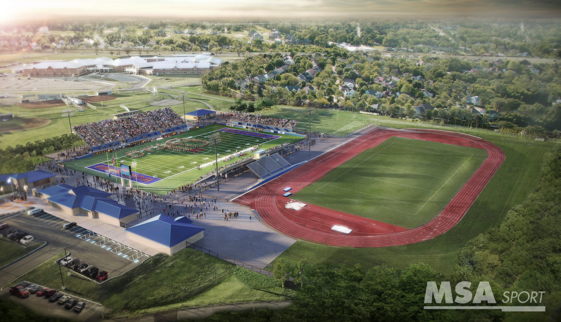 HS Track Stadium - Concession Stand, Ticket Booth, Naming Rights available! Please Contact Todd Johnson at 937-578-6100
