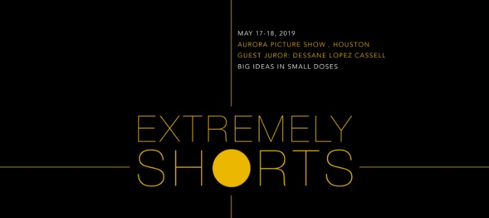 Extremely Shorts Film Festival  May 17 & 18  This unique festival, brought to you by Aurora Picture Show, features adventurous, short films (under 3 minutes long) of all kinds from around the world.