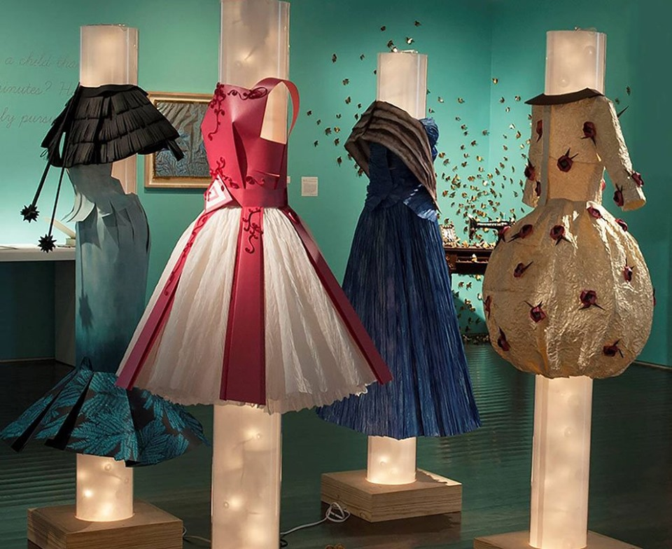 Opening Reception / Joan Son: Paper Couture - Friday, June 7, 2019 at 6:30 PM – 9 The Printing Museum1324 W Clay St, Houston, Texas 77019