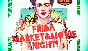 Frida Market & Movie Night - Friday, July 5, 2019 at 6 PM – 11 PMSocial Beer Garden HTX 3101 San Jacinto St, Houston, Texas 77004Admission: Free