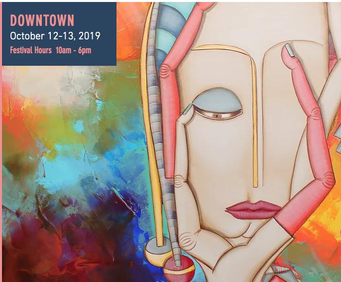 Bayou City Art Festival Downtown 2019 - Oct. 12-13, 10 am - 6 pmDowntown Houston,$5-$30