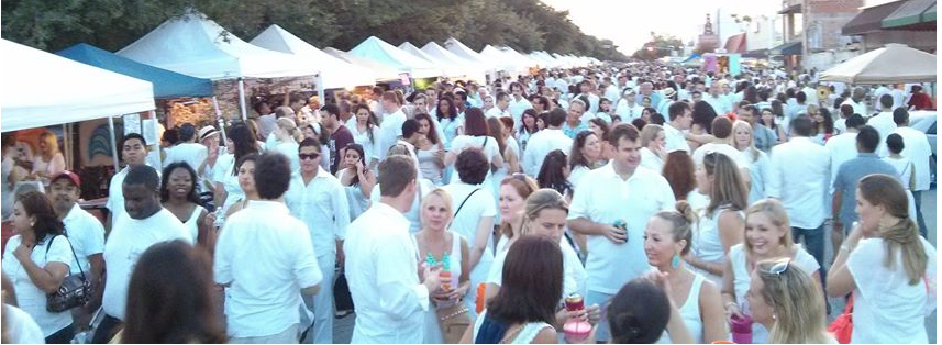 White Linen Night in the Heights - Aug. 3, 6 pm - 10 pm200 & 300 Blocks of 19th St. Houston, TX 77008