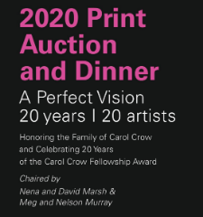 Houston Center for Photography: 2020 Print Auction Exhibition - February 13The Briar Club, 2603 Timmons Lane, 77027