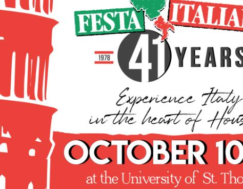 41st Houston Italian Festival - Oct. 10-133800 Montrose, 77006$5 - $25