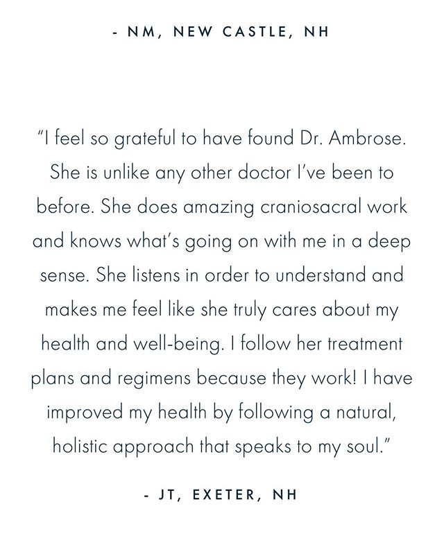 Oh, it's mutual!  I feel so blessed to work with the most supportive, intutive and talented people in my practice everyday 💫 #naturopathicdoctor #naturopathicmedicine #whatpeoplearesaying