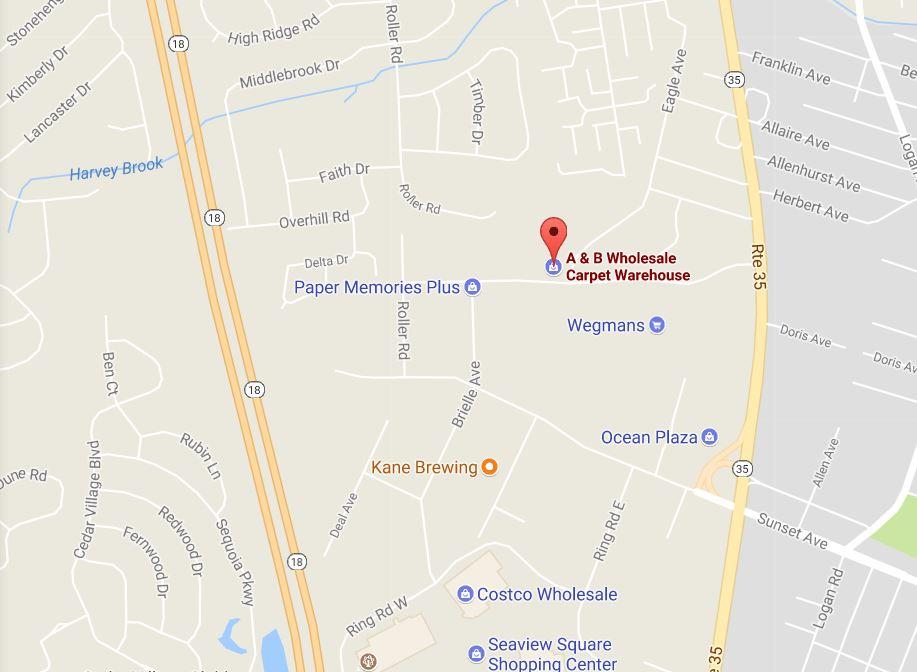 Located at 3407 Rose Avenue Ocean NJ 07712 (732) 493-2626 ABFlooringwarehouse@gmail.com